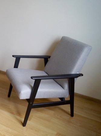 Fotel Klubowy H.Lis PRL Lata 70-te Styl ArtDeco
