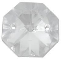 Kryształki Akrylowe Szlifowane Lodowe Rivoli Octagon Crystal 14mm 1szt